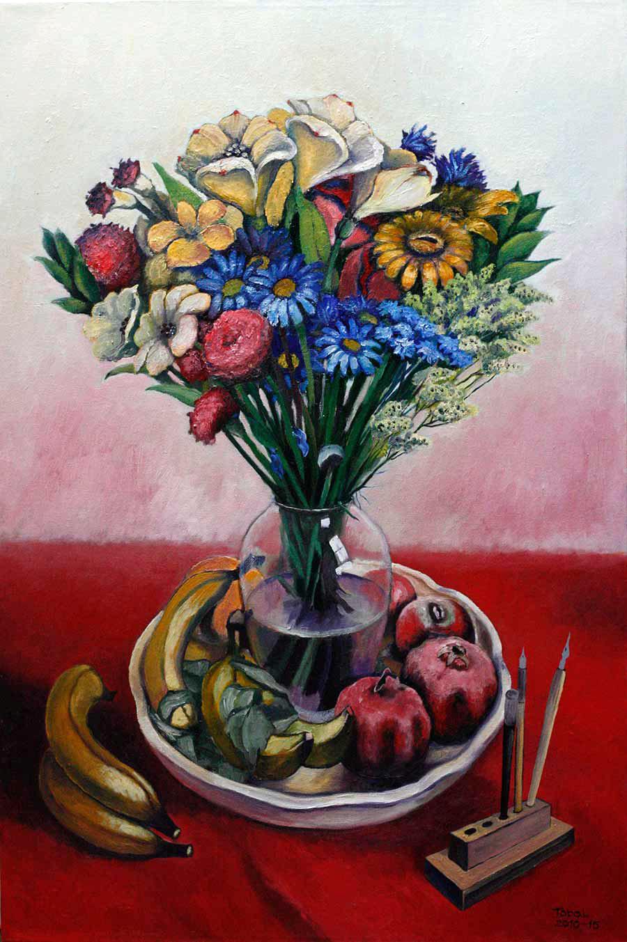 Flowers, Pomegranates and Bananas