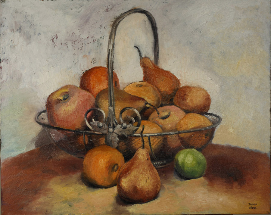 Basket of Fruits - Toronto, 2003