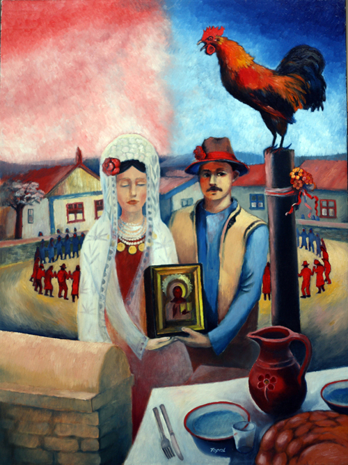 Bessarabian Wedding (2004) Toronto - Oil on canvas