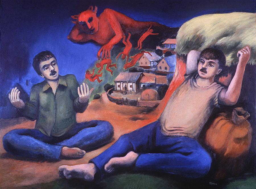 Dialogue (2003) Toronto - Oil on canvas