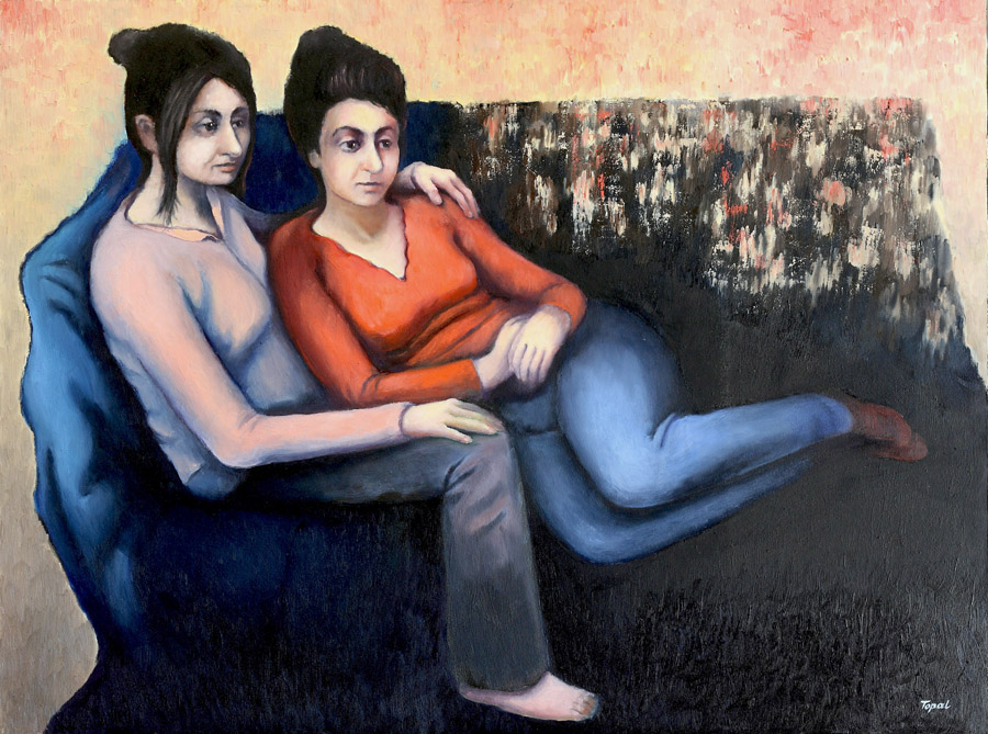 Friends (2005) Toronto, Oil on canvas