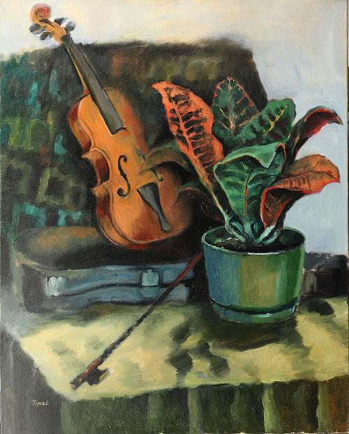 Still life with the Violin - Toronto, 2002